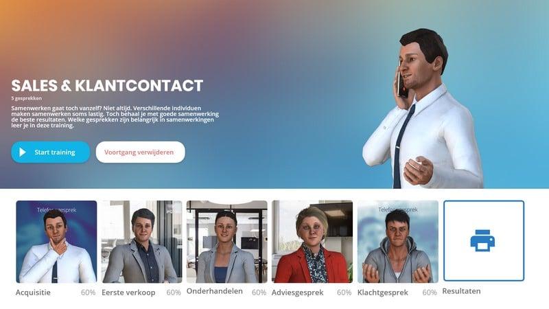 Training sales & klantcontact